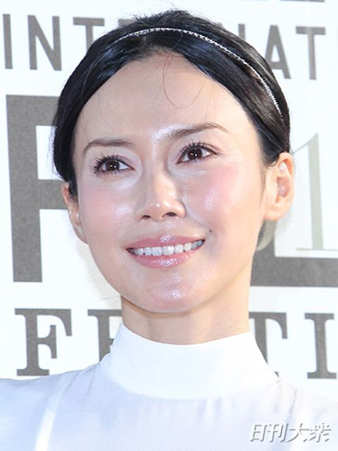 マガジンの中谷美紀さん