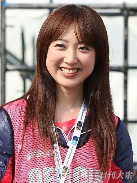 髪を下ろしている川田裕美
