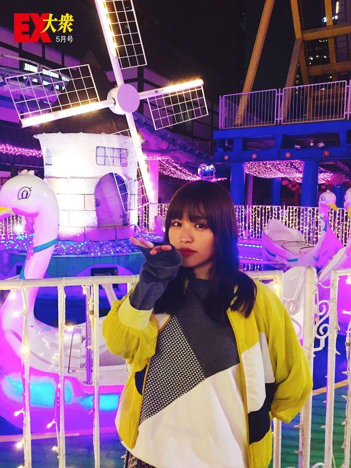 乃木坂46伊藤かりんの本誌未掲載カット3枚を大公開!【EX大衆5月号】