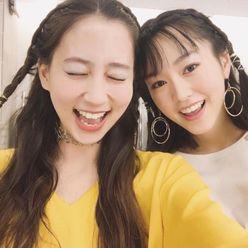 桐谷美玲&河北麻友子「みれまゆツーショット」が大反響!
