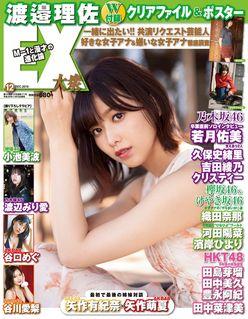 欅坂46渡邉理佐が表紙!クリアファイル、ポスター付き【EX大衆12月号】は11月15日発売!