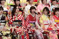 """荻野由佳、運上弘菜ほか、AKB48グループ""""新成人44名""""の振袖姿が可愛すぎる!【写真12枚】"""
