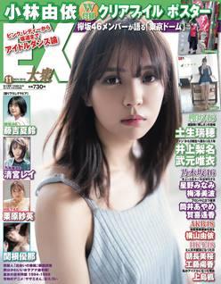 欅坂46小林由依が表紙&グラビアに登場!クリアファイルとポスターつき【EX大衆11月号】は10月15日発売!