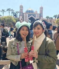 """クジパン&ユミパン、変装なしの""""お忍びディズニー""""に反響"""
