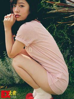 【未公開ショット】HKT48・月足天音さん編<EX大衆11月号>