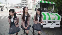 HKT48森保まどか、運上弘菜、神志那結衣が九州の魅力をPR!
