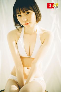 HKT48駒田京伽の本誌未掲載カット5枚を大公開!【EX大衆2月号】