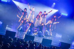 新たな9人で高みへ!〜【写真5枚】GANG PARADEワンマンライブ「GANG 2」レポート〜