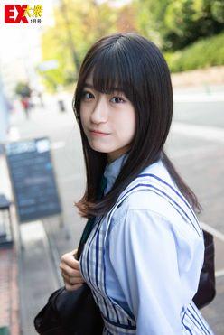 NMB48上西怜の本誌未掲載カット4枚を大公開!【EX大衆1月号】