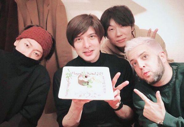 (左から)佐藤健、城田優、古市憲寿、ジャミール